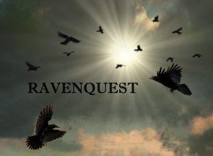RAVENQUEST ravens in sky